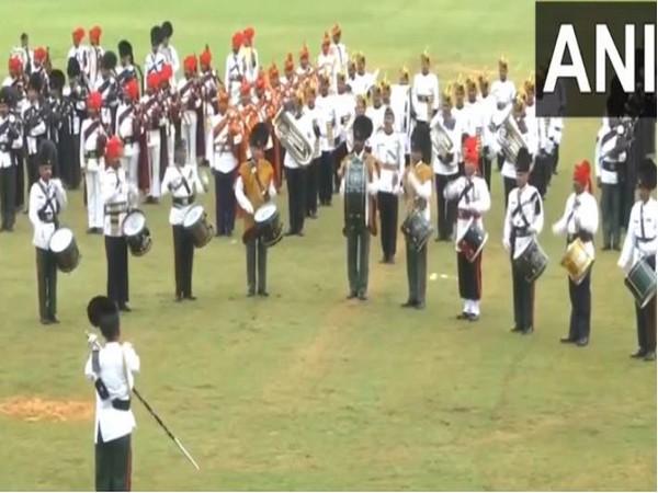 Visual of Indian Army celebrating 'Swarnim Vijay Varsh' (Photo/ANI)