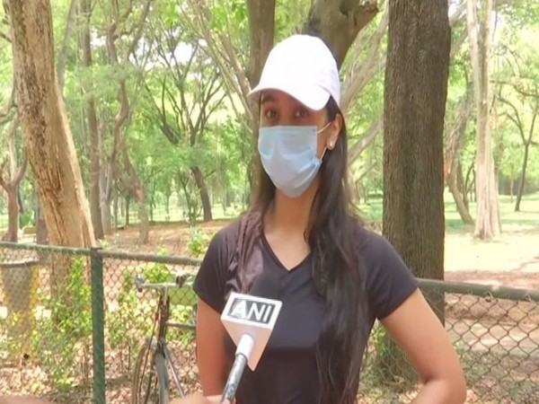 Ananya Monkur, a resident of Bengaluru, speaking to ANI (Photo/ANI)