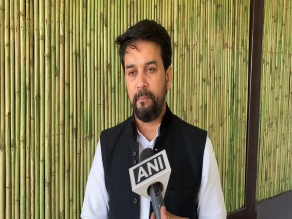 Union Minister of State for Finance and Corporate Affairs, Anurag Singh Thakur (Photo/ANI)