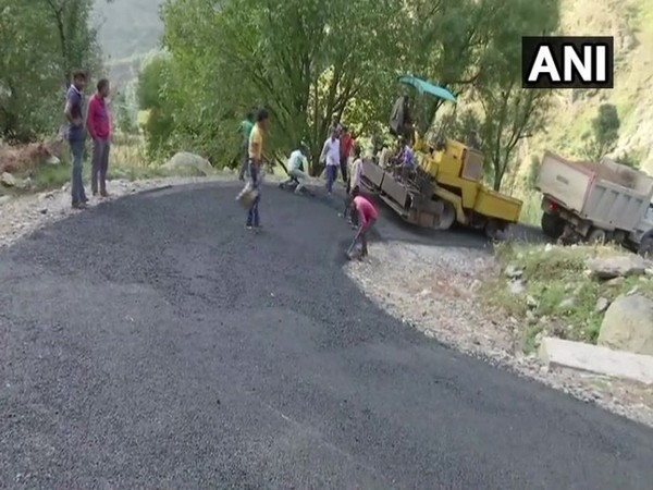 Visuals from the site in Rajouri district of Jammu and Kashmir on November 18. Photo/ANI