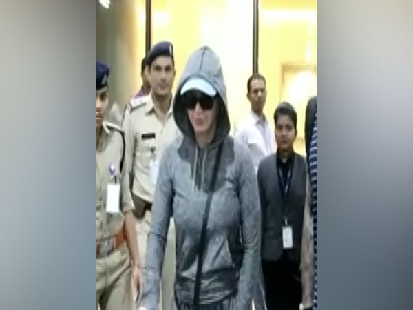 Katy Perry at Mumbai Airport