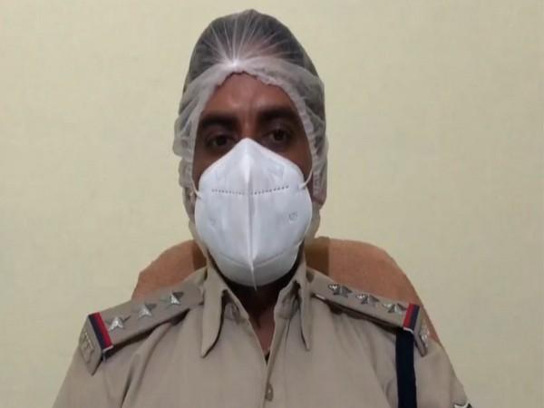 Jairam Kushwaha, police post In-Charge, Luharguwan. (ANI)