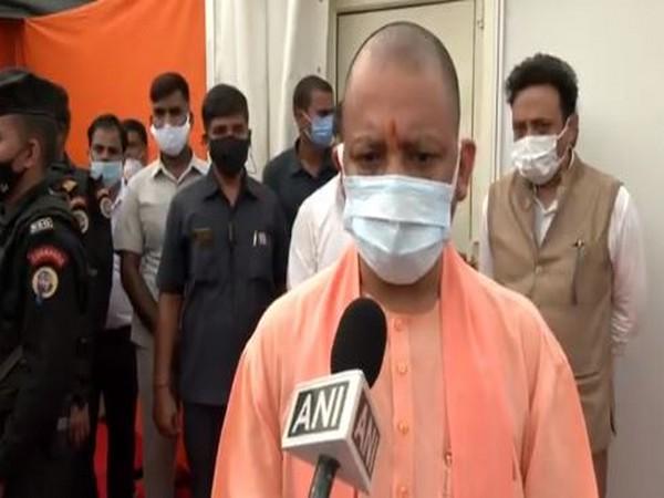 Uttar Pradesh Chief Minister Yogi Adityanath. (Photo/ANI)