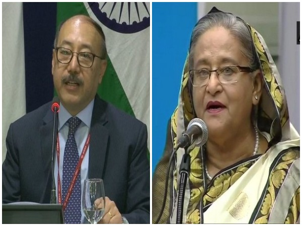 Foreign secretary Harsh Vardhan Shringla on Tuesday met with Bangladeshi Prime Minister Sheikh Hasina