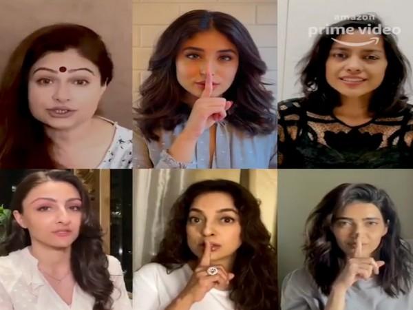 Juhi Chawla, Ayesha Jhulka, Soha Ali Khan, Karishma Tanna, Shahana Goswami and Kritika Kamra roped in for Amazon Prime original series 'Hush-Hush' image Source: Instagram)