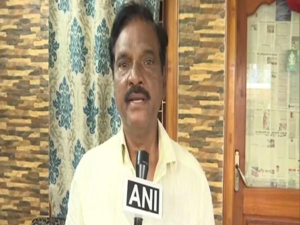 Andhra Pradesh Congress leader V Gurunadham (file pic/ANI).