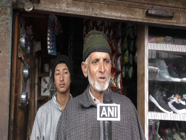 A local from Baramulla speaking to ANI on Saturday.