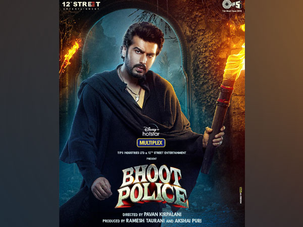 Arjun Kapoor's first look as Chiraunji from 'Bhoot Police' (Image source: Instagram)