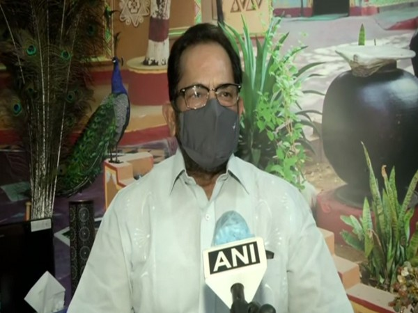Union Minister and BJP leader Mukhtar Abbas Naqvi