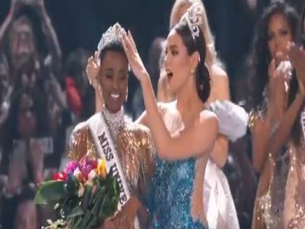 Zozibini Tunzi: Miss Universe 2019 (Picture Courtesy: Twitter)