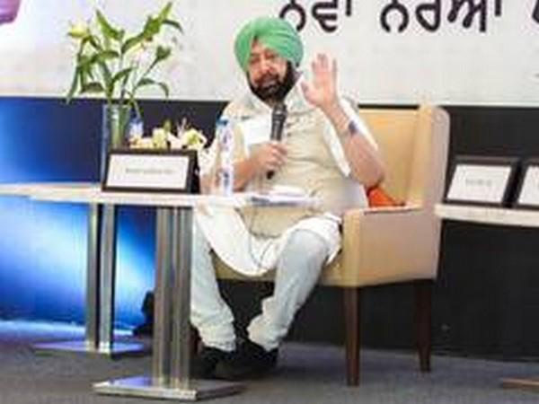 Punjab CM Amarinder Singh (file pic/ANI).
