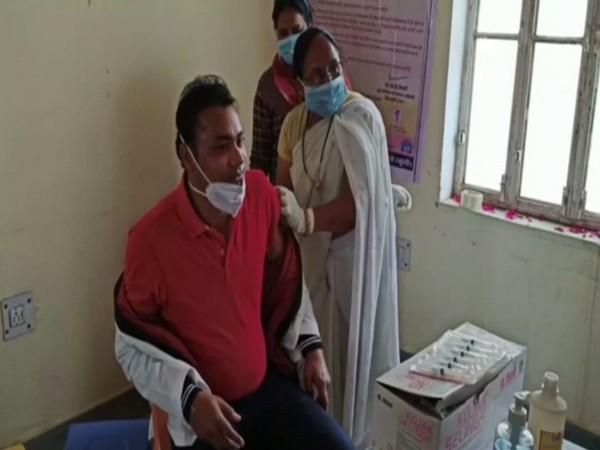 A vaccination centre in Bundi, Rajasthan (Photo/ANI)