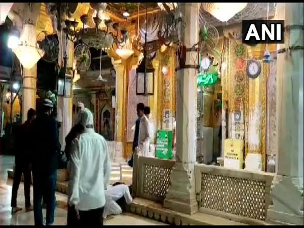 Early morning visual from Ajmer Sharif dargah (ANI).