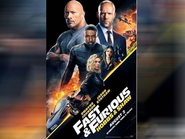 Fast and Furious: Hobbs and Shaw poster, Image Courtesy: Instagram