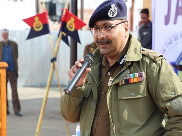 Jammu and Kashmir Director General of Police Dilbag Singh. File photo/ANI