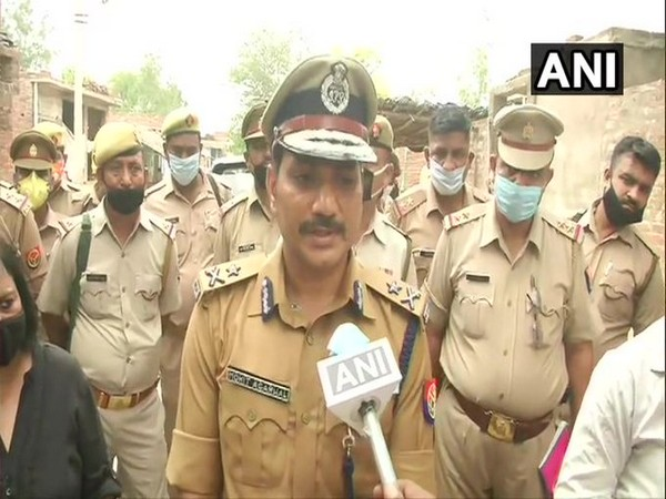 Inspector General of Police Kanpur Mohit Agarwal speaking to ANI on Sunday. (Photo/ANI)