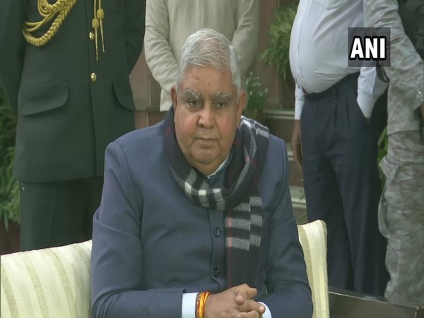 West Bengal Governor Jagdeep Dhankhar during a press conference in New Delhi on Saturday. (Photo/ANI)