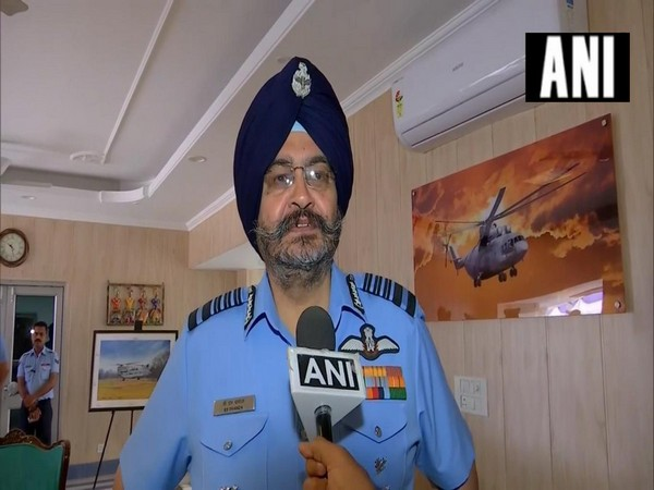 Air Chief BS Dhanoa speaking to ANI on Monday.