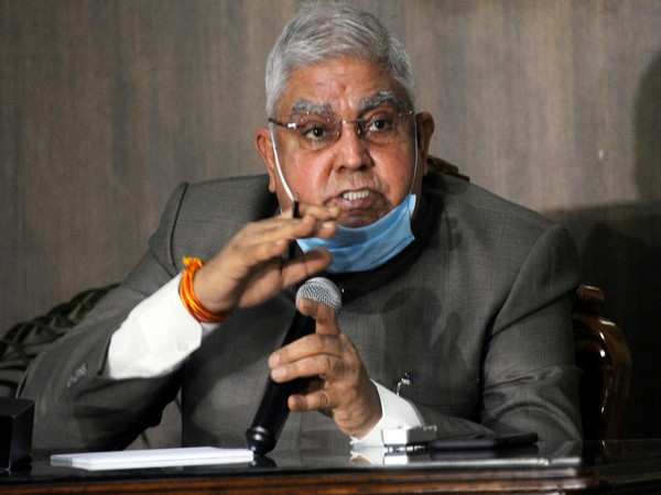 West Bengal Government Jagdeep Dhankhar (File photo)