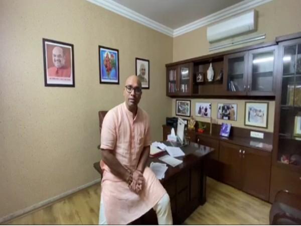 BJP MP Arvind Dharmapuri