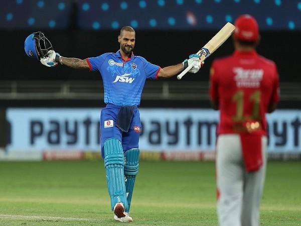 Delhi Capitals batsman Shikhar Dhawan. (Image: BCCI/IPL)