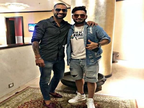 Shikhar Dhawan with Rishabh Pant (Photo/Shikhar Dhawan Instagram)