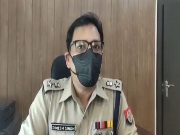 Amethi Police Superintendent Dinesh Singh (Photo/ANI)