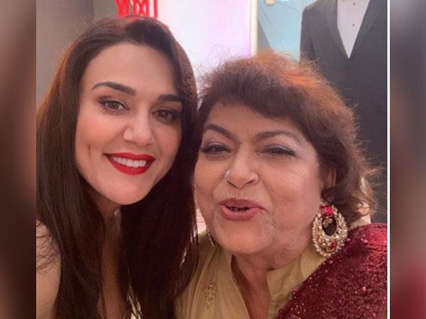 Preity Zinta pays heart-warming tribute to Saroj Khan (Image source: Instagram)