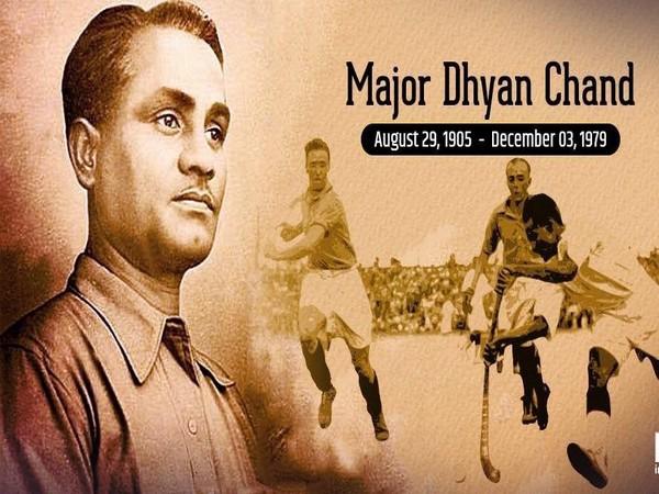 Former Hockey player Major Dhyan Chand (Photo/VVS Laxman Twitter)