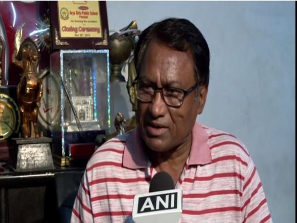 Former India hockey skipper Ashok Dhyanchand.