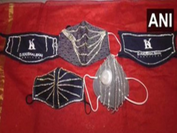 A jewellery shop in Surat came up with an idea of selling diamond-studded masks ranging between Rs 1.5 lakhs to 4 lakhs.