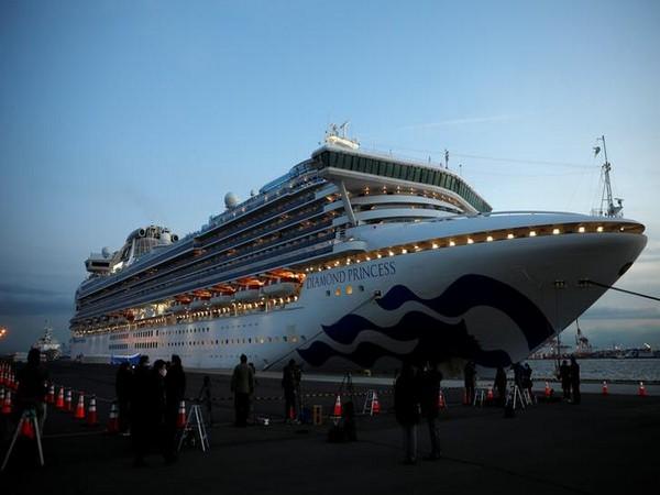 Luxury cruise ship Diamond Princess