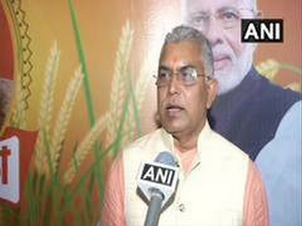 West Bengal BJP chief Dilip Ghosh (File photo/ANI)