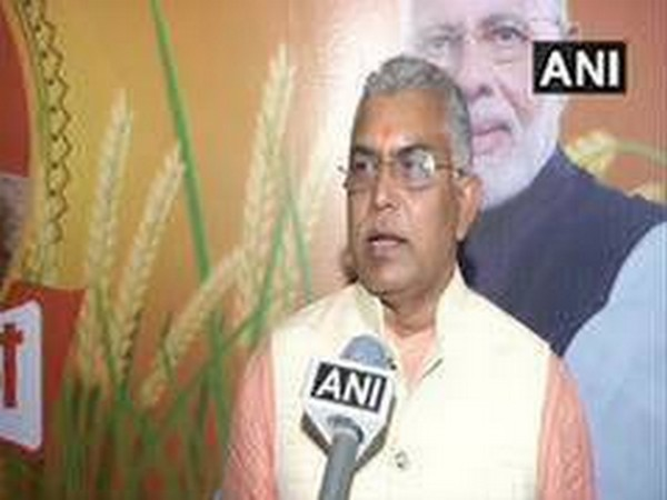 West Bengal BJP chief Dilip Ghosh (File photo)