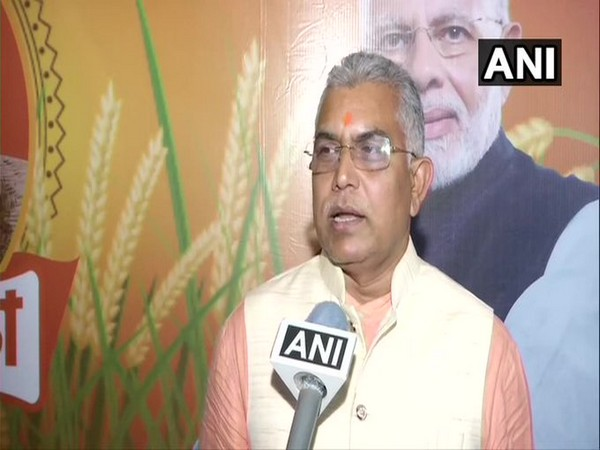 West Bengal BJP chief Dilip Ghosh speaking to ANI