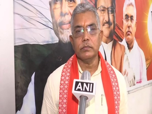 West Bengal BJP chief Dilip Ghosh. [Photo/ANI]