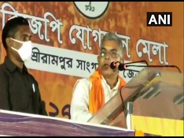 BJP's West Bengal unit chief Dilip Ghosh (Photo/ANI)