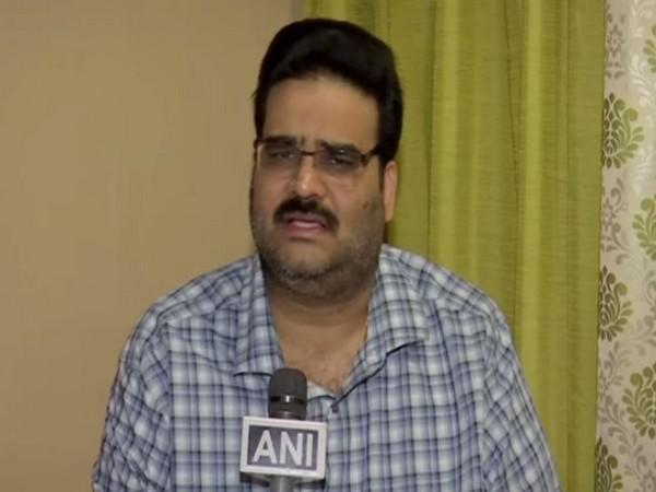 BJP leader Lanka Dinakaran speaking to ANI in Hyderabad on Sunday
