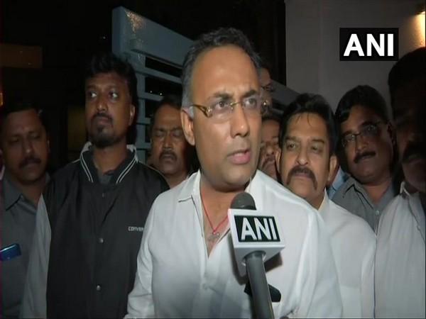Karnataka Pradesh Congress Committee president Dinesh Gundu Rao (File photo/ANI)
