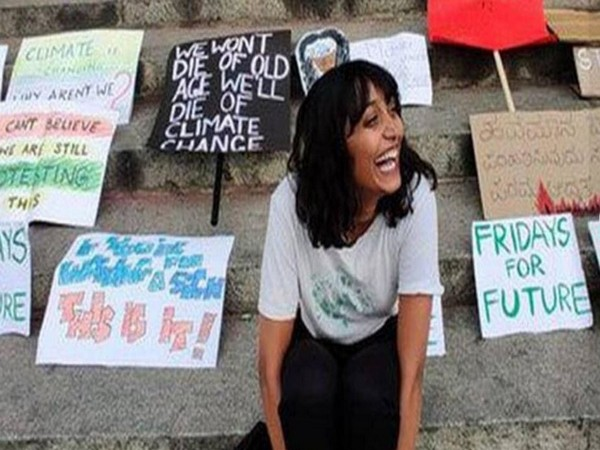 Disha Ravi, a climate activist and accused in farmers protest toolkit case
