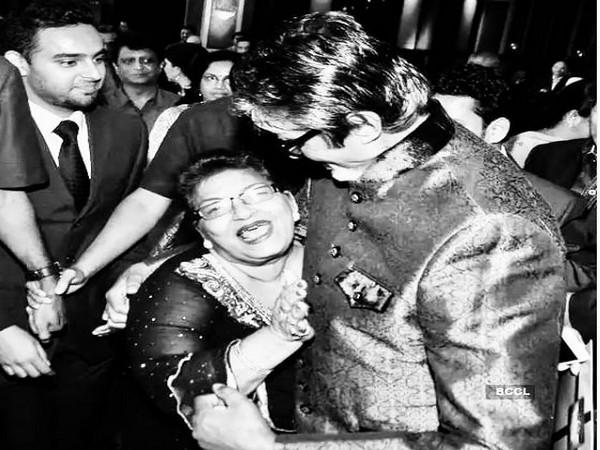 Amitabh Bachchan, Saroj Khan (Image courtesy: Instagram)
