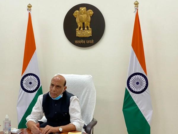 Union Defence Minister Rajnath Singh (file pic/ANI).