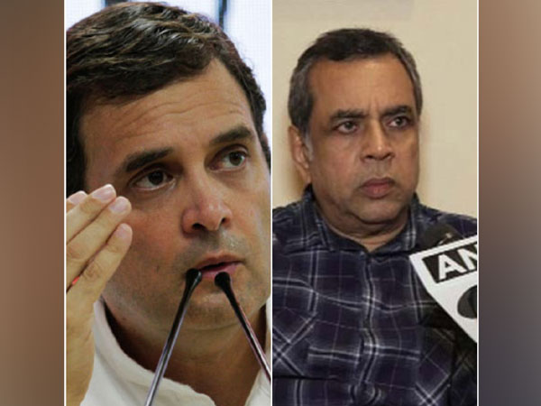 Rahul Gandhi and Paresh Rawal