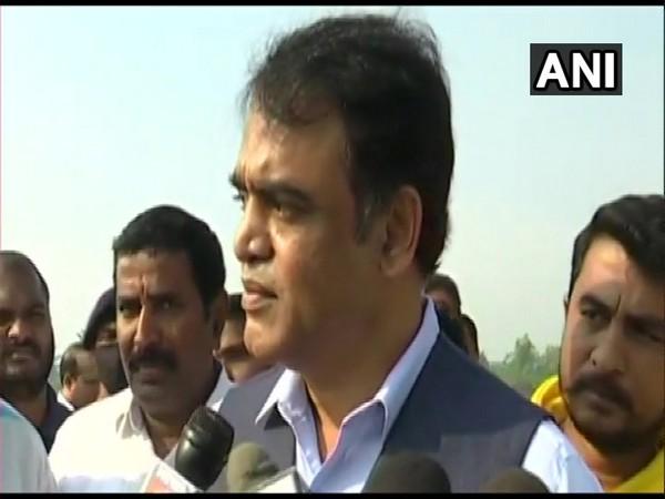 Karnataka Deputy Chief Minister Ashwathnarayan speaking to media on Wednesday. (Photo/ANI)