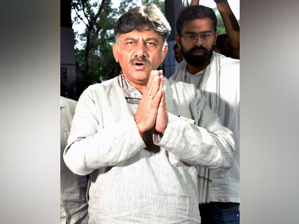 Congress leader DK Shivakumar (file pic)