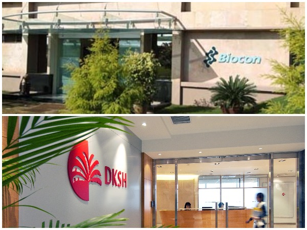 At 10:40 am, Biocon's stock was trading 0.9 pc higher at Rs 384.95 per unit.