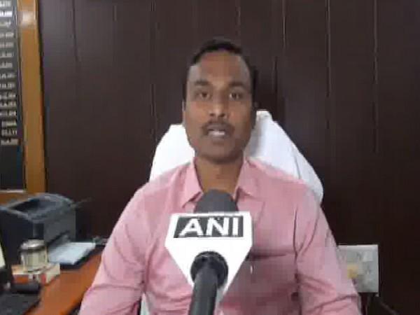 Pithoragarh District Magistrate (DM), Vijay Kumar Jogdande speaking to ANI in Uttarakhand on June 24. Photo/ANI