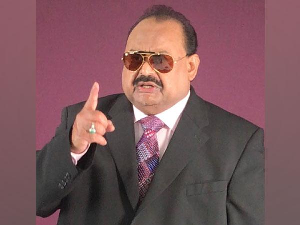Founder and leader of Muttahida Quami Movement (MQM) Altaf Hussain