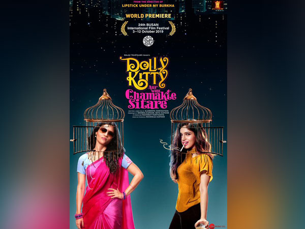 Poster of 'Dolly Kitty Aur Woh Chamakte Sitare', Image courtesy: Twitter