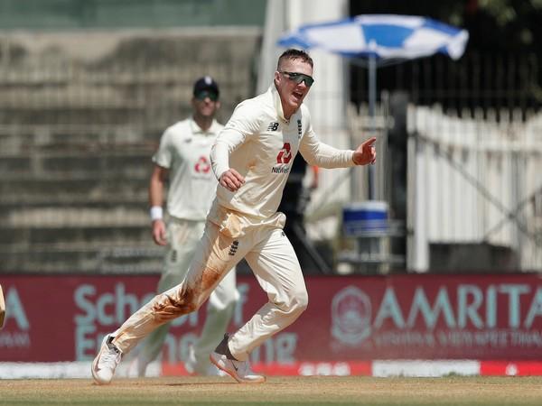 England spinner Dom Bess (Photo/ ICC Twitter)